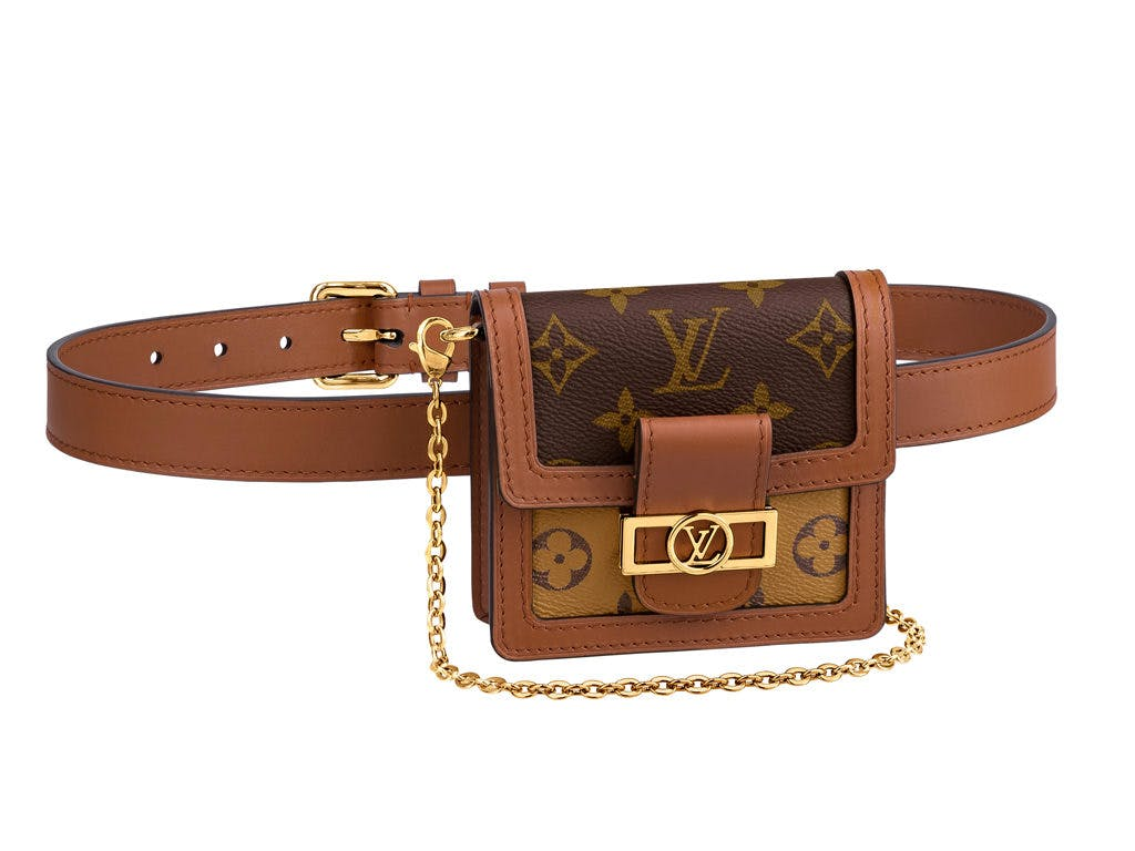 Fanny Packs Are Back in Style: Best Designer Belt Bags Louis Vuitton Dauphine