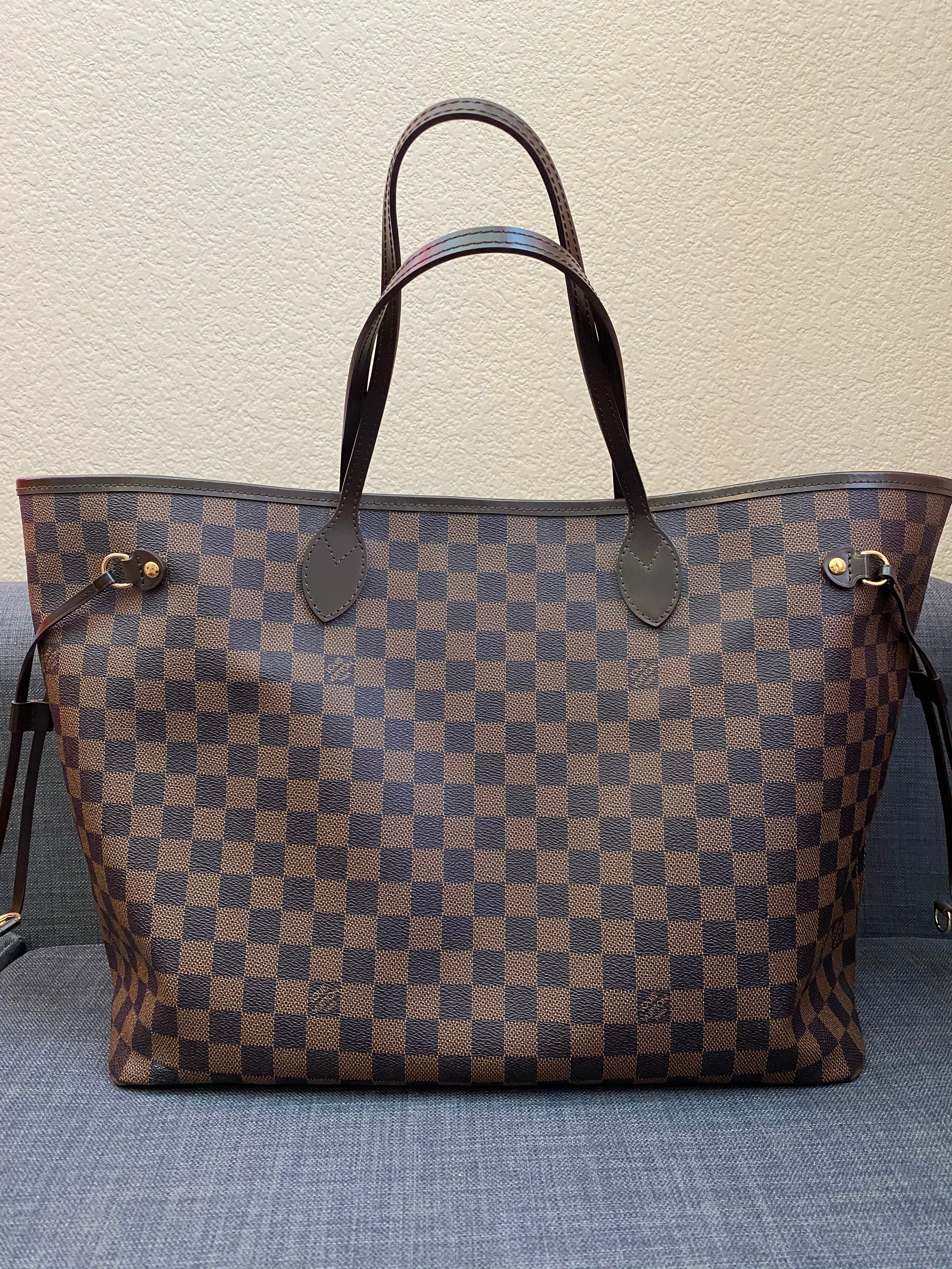 Fake Louis Vuitton Neverfull vs Real: Important Details You Should Definitely Pay Attention To (With Photo Examples) fake neverfull damier ebene