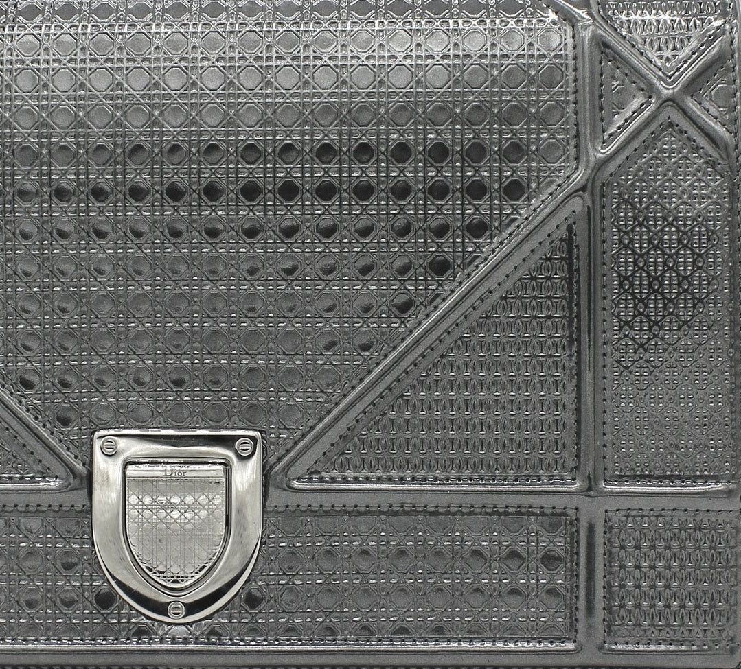 Ultimate Dior Leather Guide: What Are Dior Bags Made Of? dior metalllic calfskin leather