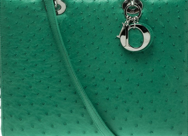 Ultimate Dior Leather Guide: What Are Dior Bags Made Of? dior ostrich