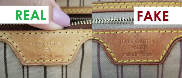 louis vuitton neverfull how to spot a fake  tell if it's authentic or replica