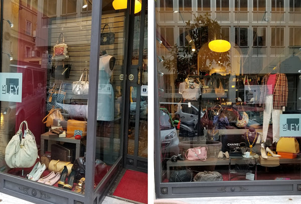 lesley luxury vintage rome consignment shop