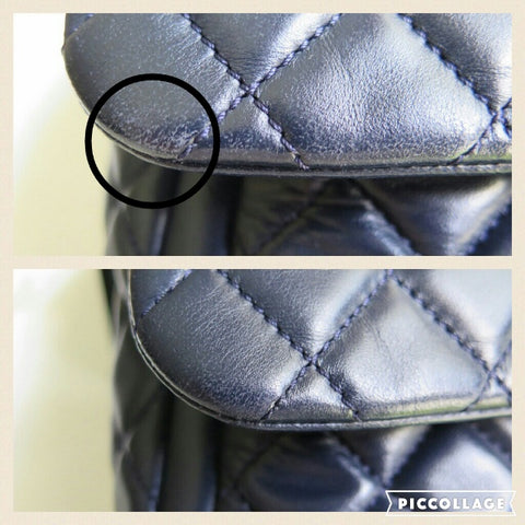 chanel flap how to clean