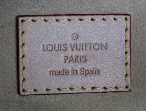 is authentic louis vuitton made in spain