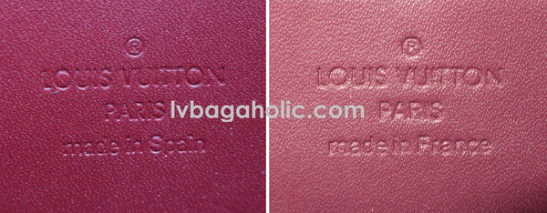 how to spot a louis vuitton fake wallet
