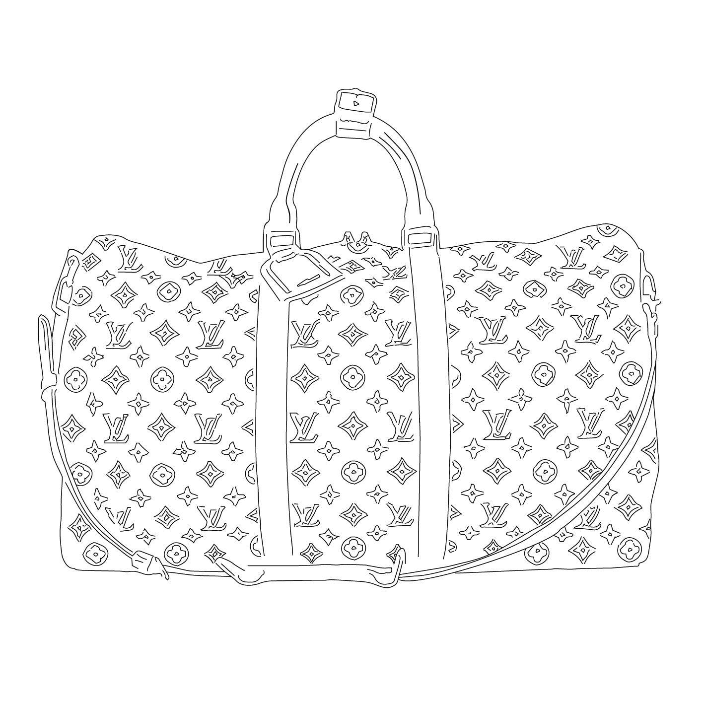 What Size Louis Vuitton Keepall Should I get? Keepall history