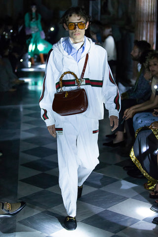 gucci 2020 men collection bamboo bag