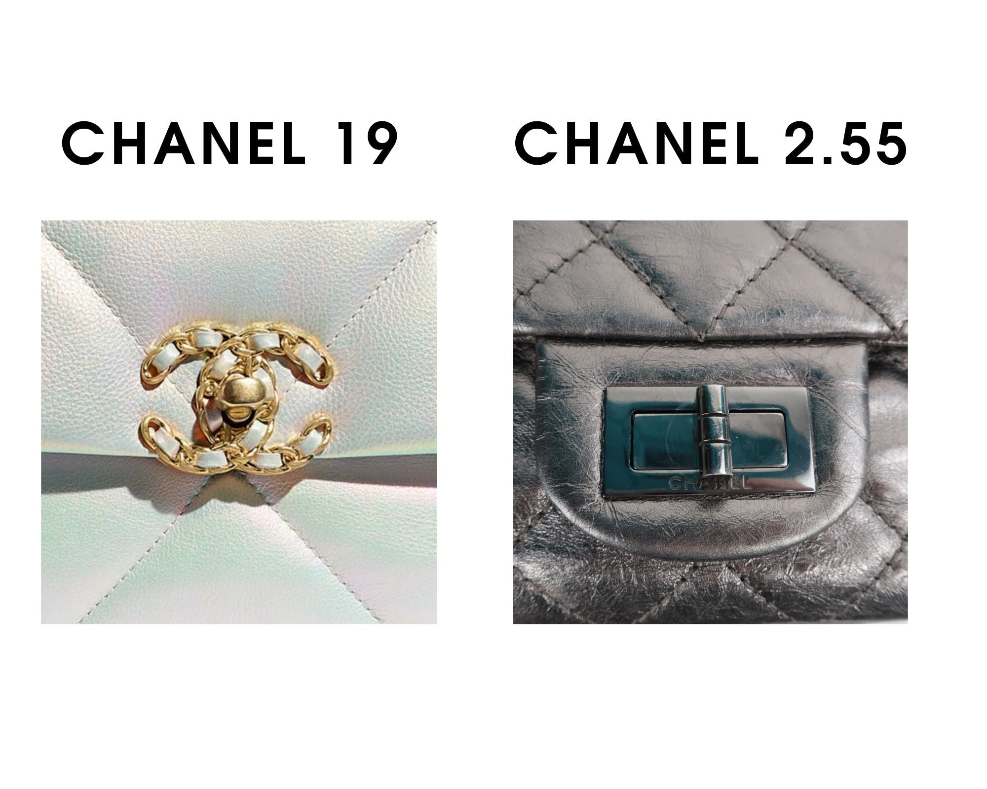 "Is Chanel 19 Bag Worth Buying? Ultimate New Chanel ""It"" Bag Review Chanel 19 vs Chanel 2 55"