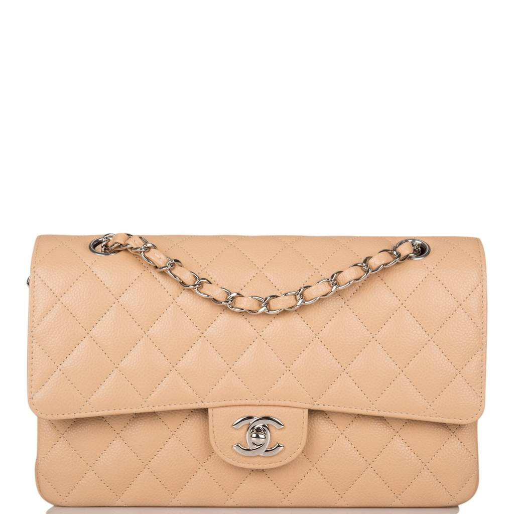 How Much Are Chanel Purses on the Resale Market? chanel medium flap
