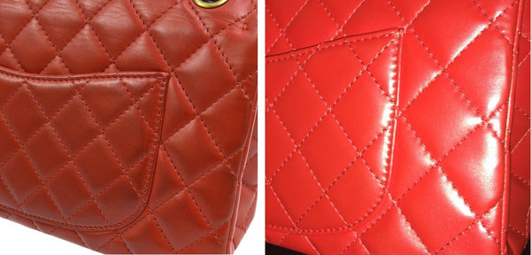 chanel reissue hot to clean color transfer