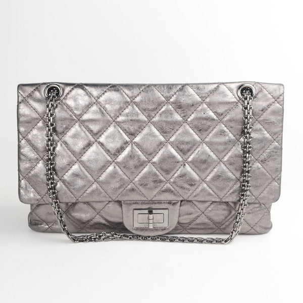 chanel silver reissue