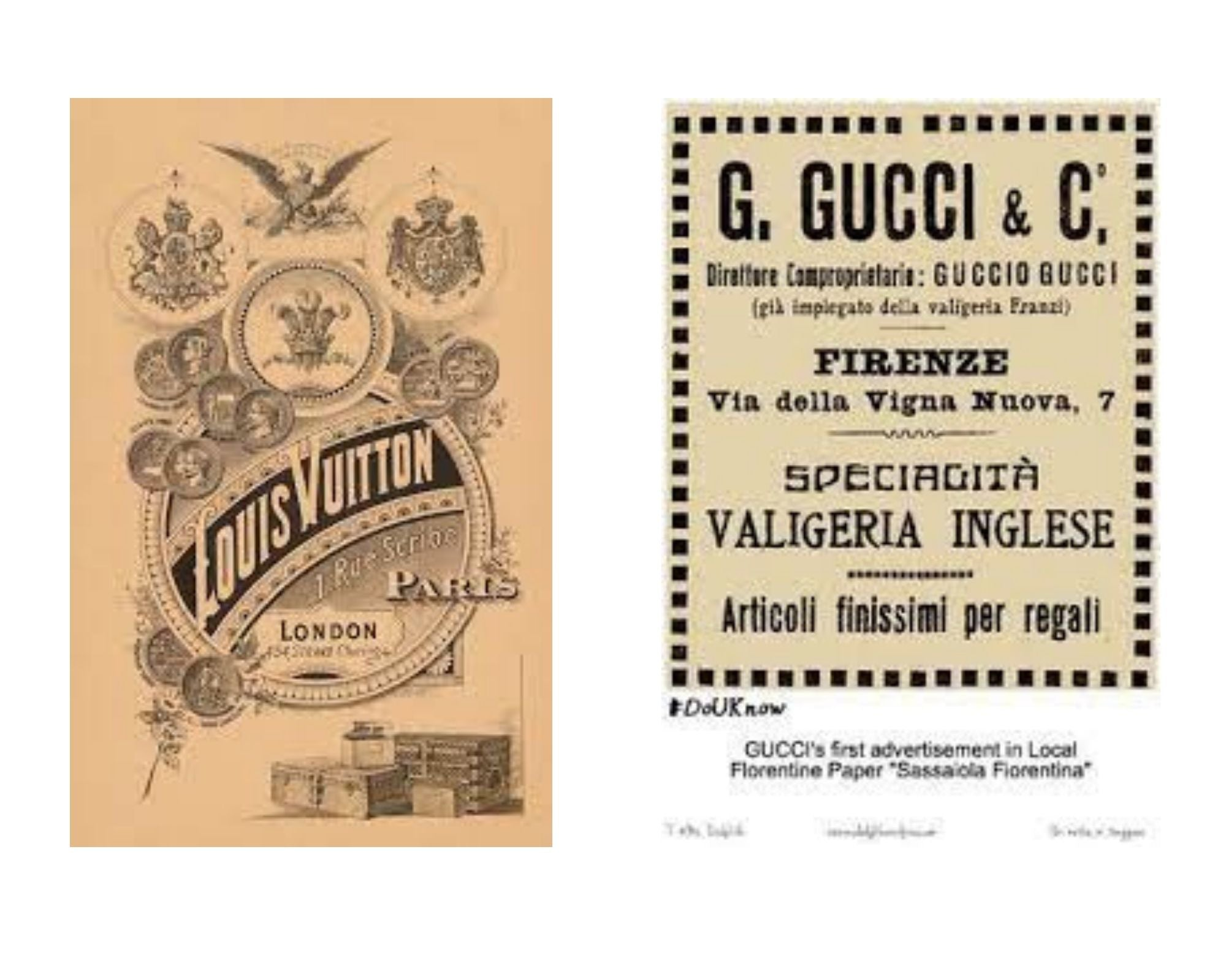 Which Brand Is Better: Louis Vuitton vs Gucci brand history
