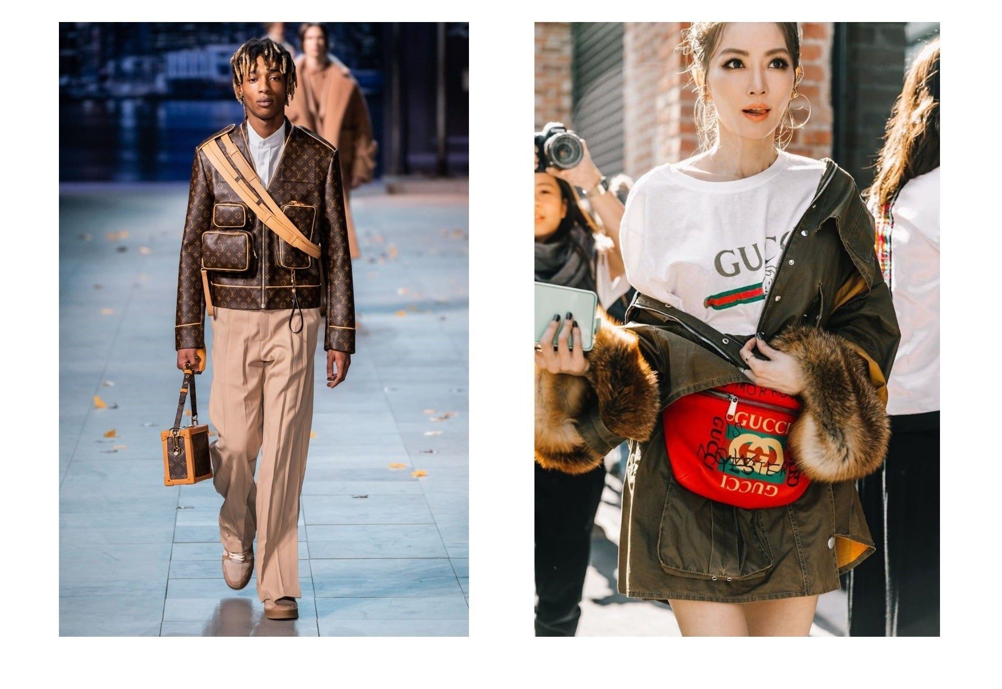 Which Brand Is Better: Louis Vuitton vs Gucci outfits