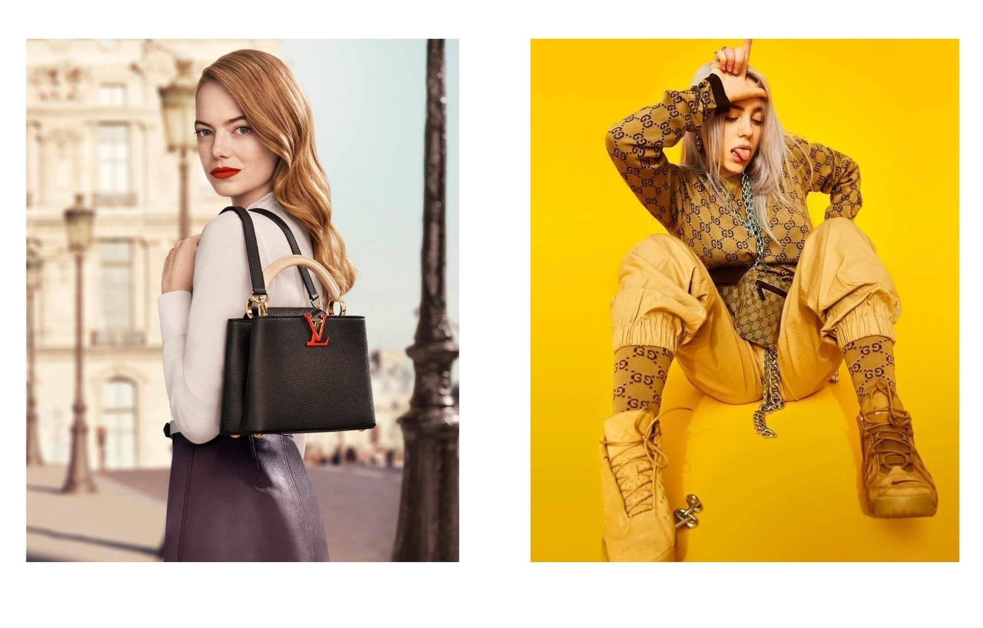Which Brand Is Better: Louis Vuitton vs Gucci celebrities