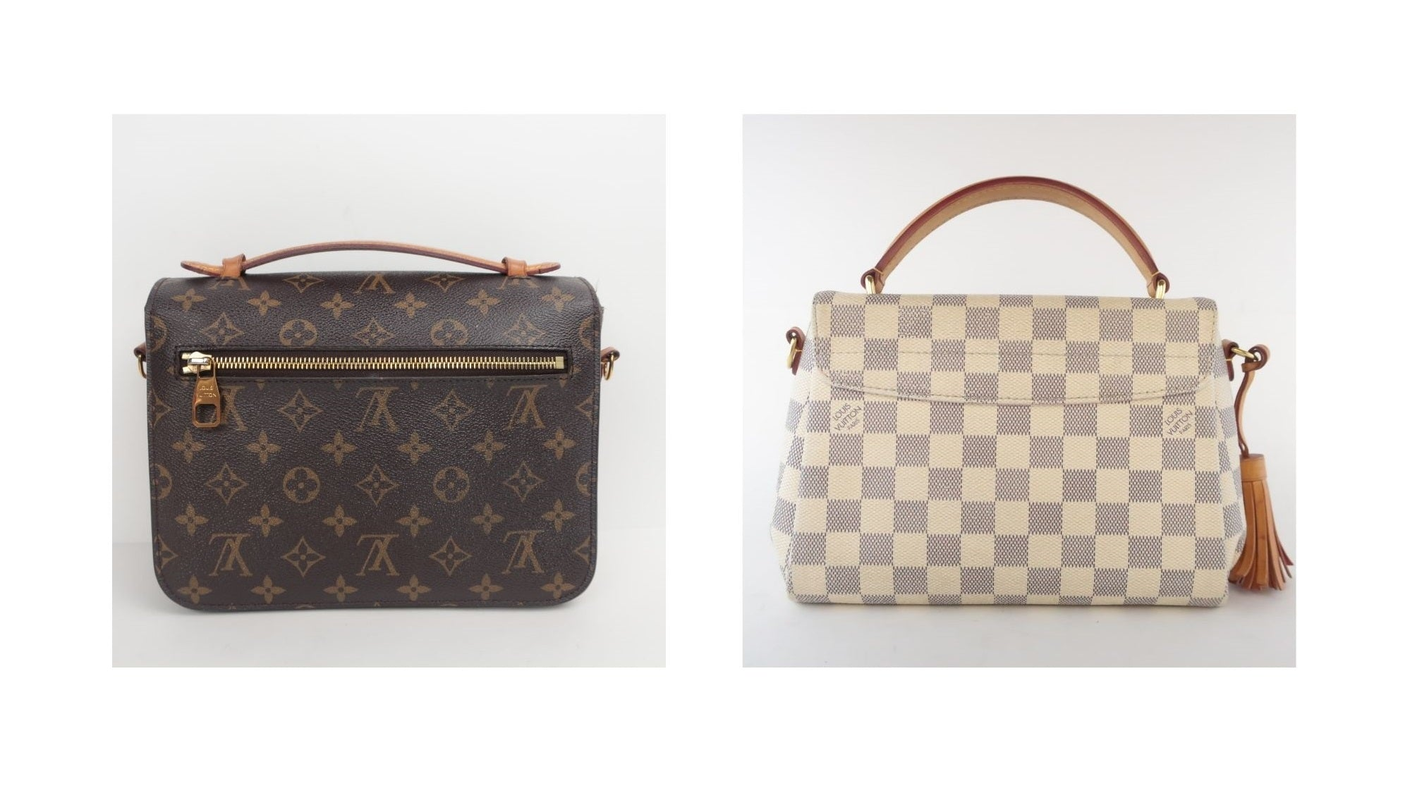 Louis Vuitton Croisette Bag Review and Real vs Fake Comparison (With Real Photos) louis vuitton croisette vs louis vuitton pochette metis