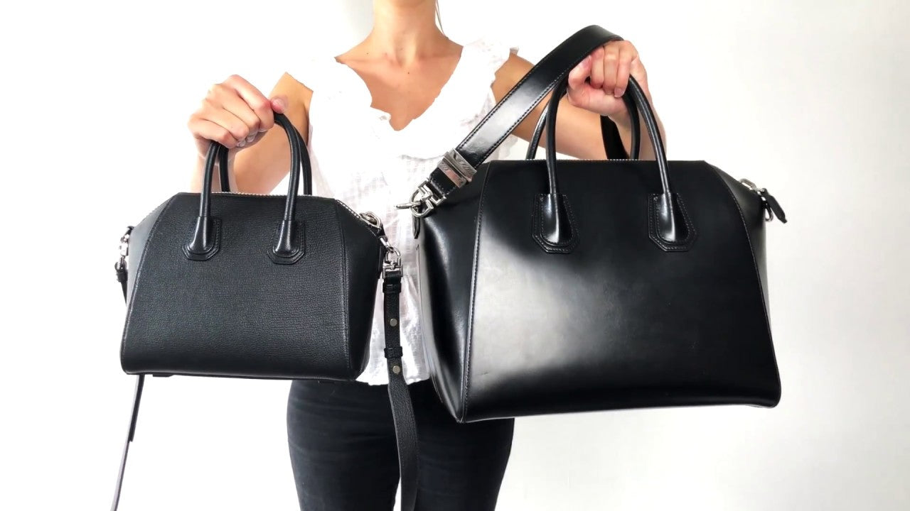 Givenchy Antigona Reference Guide: A Great Everyday Bag grained vs smooth leather