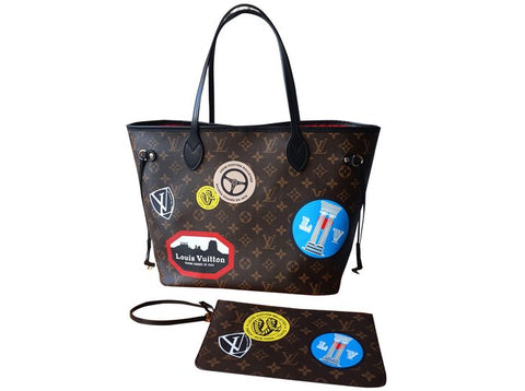 louis vuitton world tour neverfull