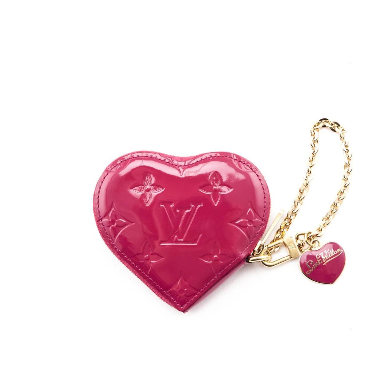 How To Dress Up Your Bag: The Best Designer Bag Accessories Louis Vuitton Heart Coin Purse