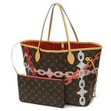 louis vuitton monogram bay neverfull mm