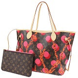 louis vuitton limited edition ramages neverfull mm