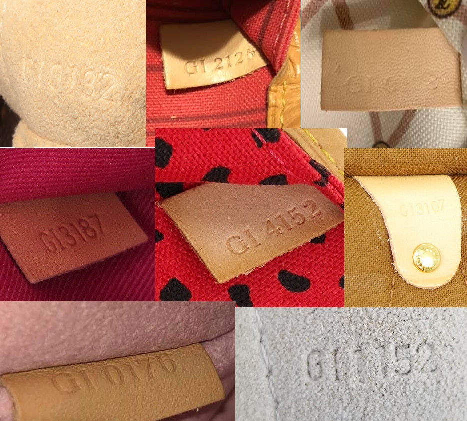 louis vuitton made in spain date code gi