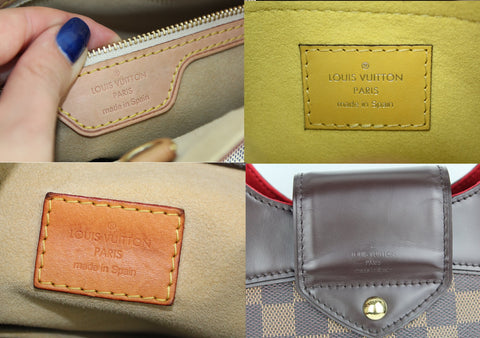 louis vuitton lv made in spain