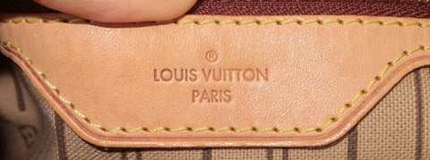 louis vuitton lv auténtico sello de calor hecho en EE. UU.