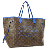 louis vuitton neverfull ikat articles de voyage limited edition