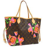 louis vuitton neverfull stephen sprouse roses 2008