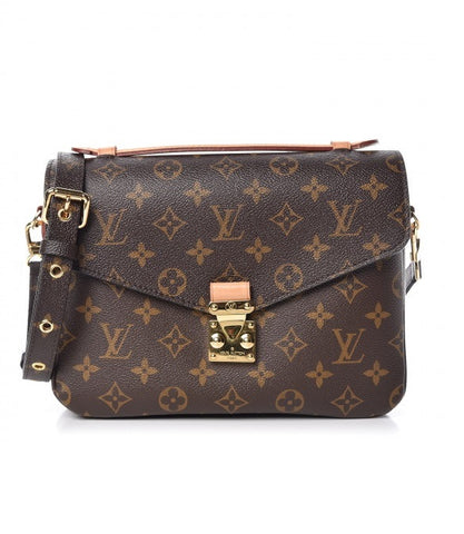 louis vuitton classic monogram canvas pochette metis