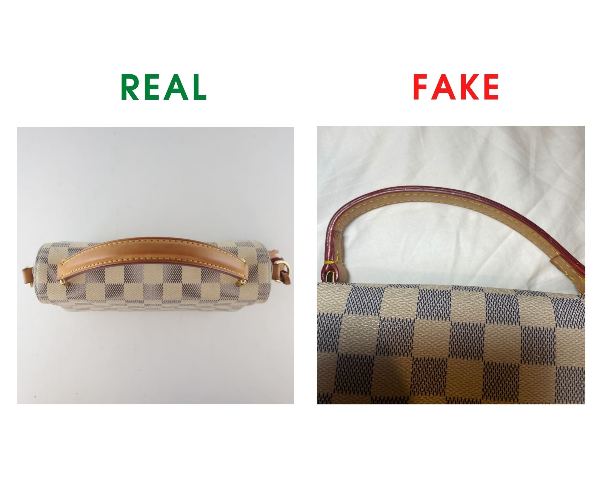 Louis Vuitton Croisette Bag Review and Real vs Fake Comparison (With Real Photos) Top handle