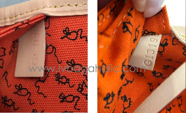 lv louis vuitton catogram mm date code is this authentic