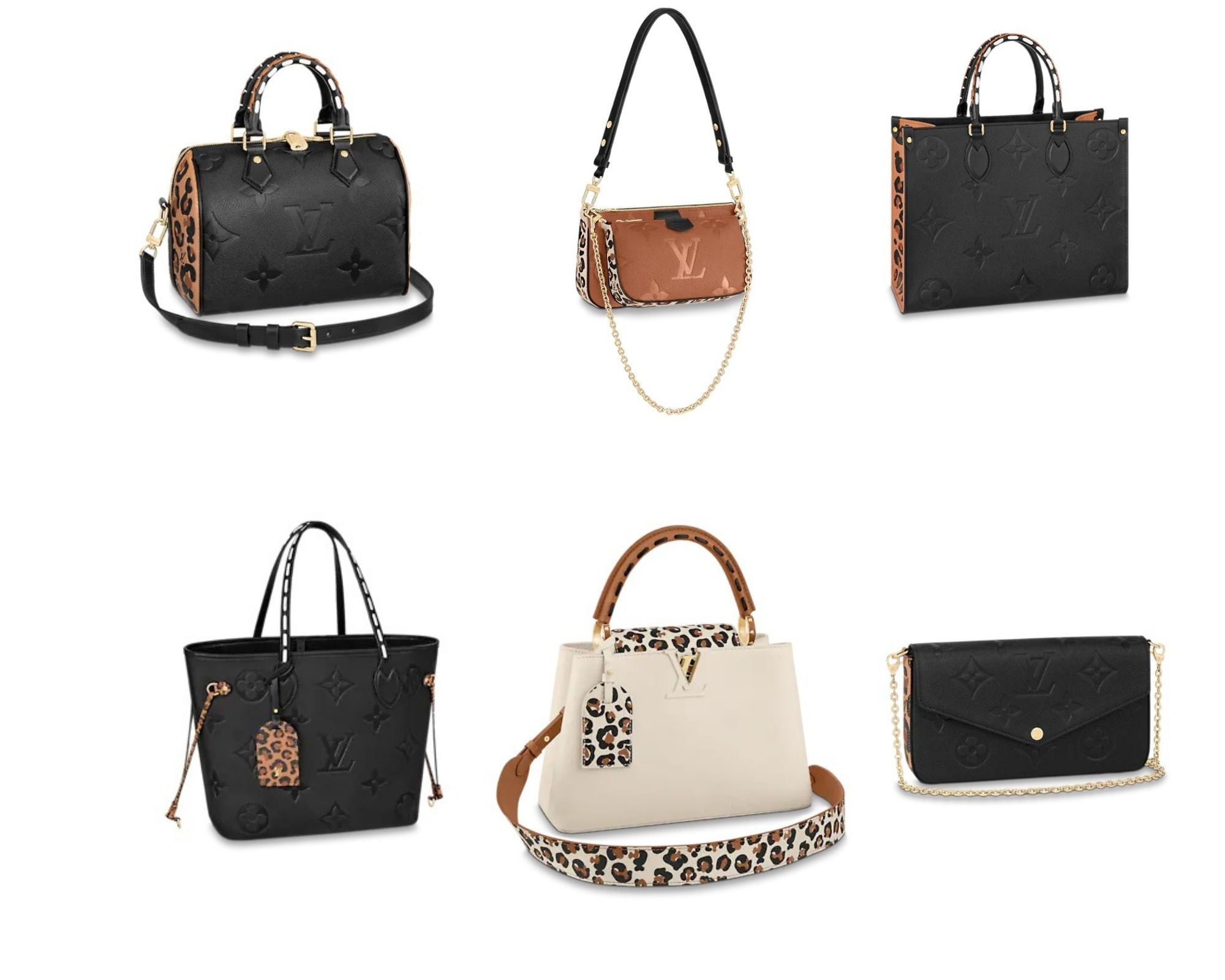 Louis Vuitton Wild At Heart Collection: Handbags and Small Leather Goods