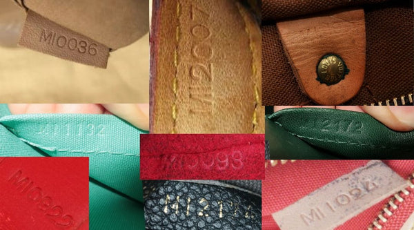louis vuitton mi made in france date code