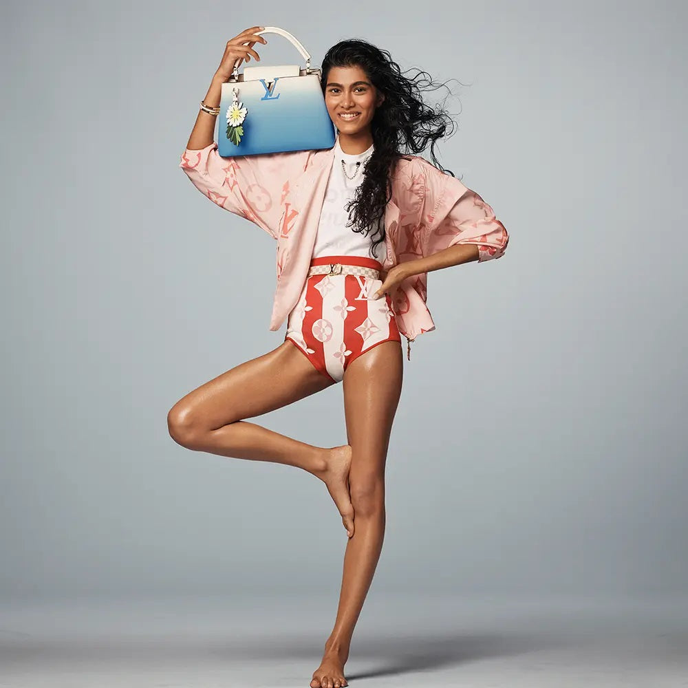 Louis Vuitton Summer 2021 By the Pool Collection Louis Vuitton Capucines