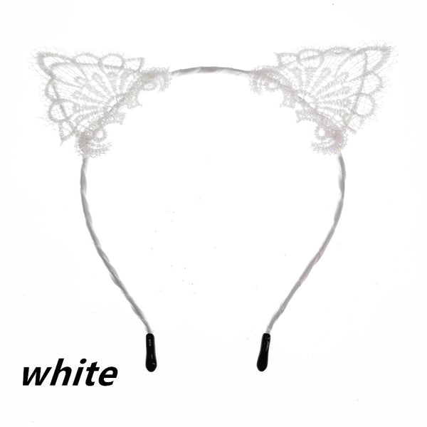 Cat Ear fabric Hairbands - Liked Buy