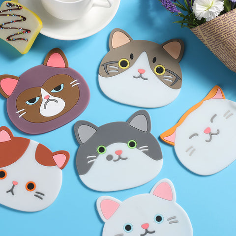 Cartoon Cat Printing Table Mats - Liked Buy