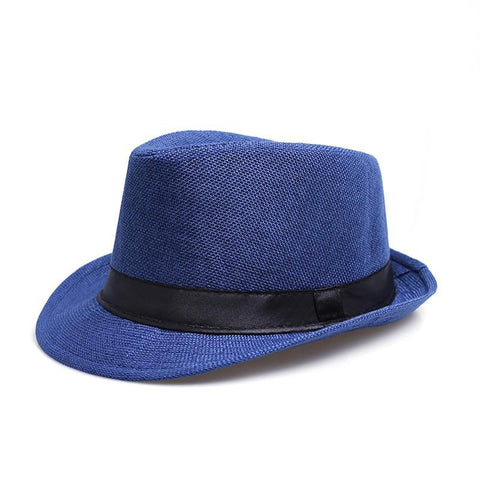Solid Color Jazz Hat