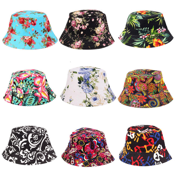 Outdoor Floral Sun Hat