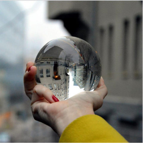 Clear Crystal Magic Ball - Liked Buy