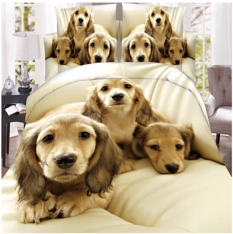 3D Dogs Bedding Cover - Liked Buy