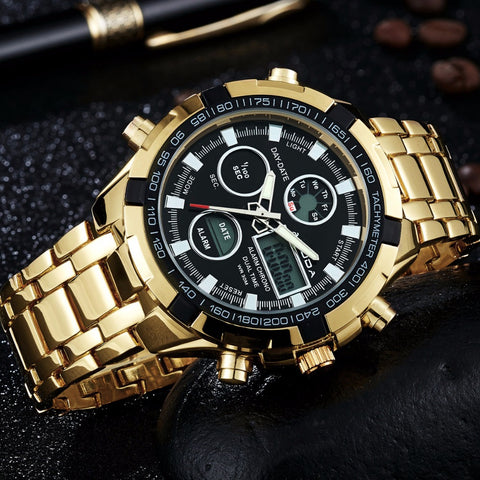 Bracelet Clasp Luxury Brand Golden Watches - Liked Buy