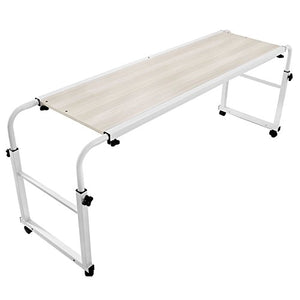 Adjustable Desk Rolling Table - Liked Buy