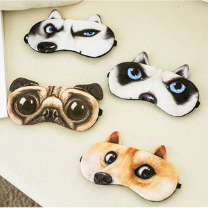 Travel Soft Cartoon Eye Mask