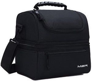 Double Deck Cooler Lunch Bag