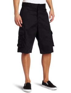 Loose Fit Twill Cargo Short