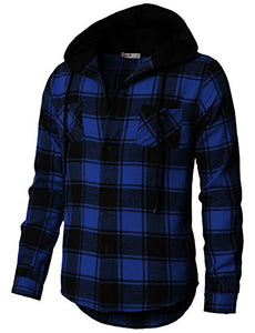 Flannel Plaid Long Sleeve Sweatshirt