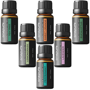 Aromatherapy 100% Pure Essential Oils