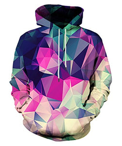 3D Cool Galaxy Printed Hoodies