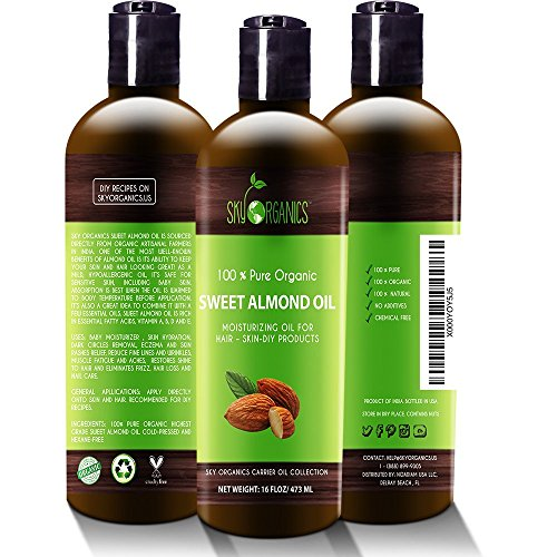 Best Sweet  Organic Almond Oil - Liked Buy